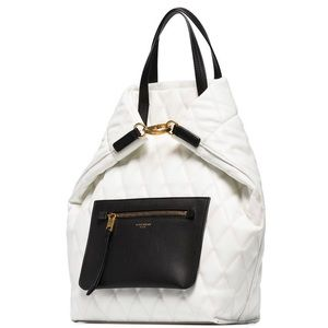 Givenchy pouch-pocket duo quilted backpack
